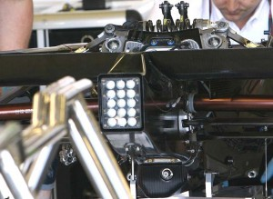 2009 Brawn F1 heave spring