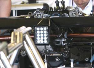 2009 Brawn F1 heave spring