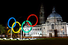 Olympic Rings of Cardiff